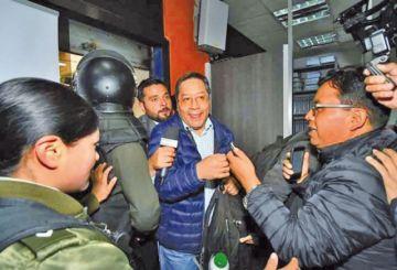 Suspenden la audiencia de Luis Arce por el caso Fondo Indígena