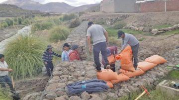 Los fenómenos naturales ya afectaron a 18 municipios