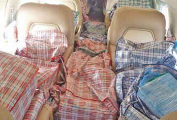 Caen dos bolivianos que transportaban cocaína de Argentina a México