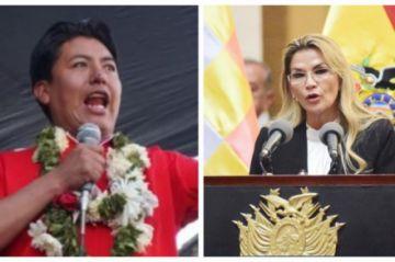 "Pumari dice que ""políticos reciclados"" presionan a Añez para que sea candidata"