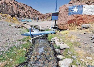 Comcipo pide enjuiciar a empresa que se benefició del agua del Silala