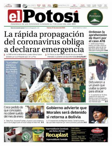 El coronavirus se expande e invade las tapas de los diarios