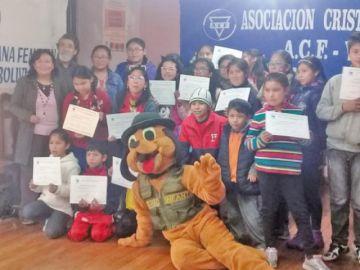 Concluye curso vacacional de matemáticas lúdicas de la ACF