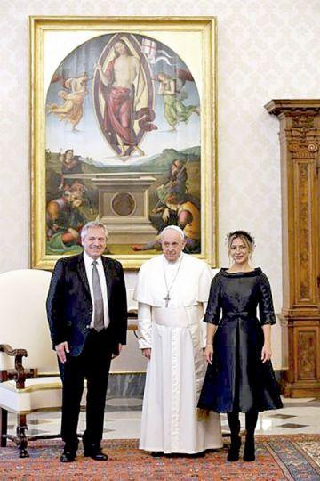 """Fernández: """"El Papa siempre me va a ayudar"""""""