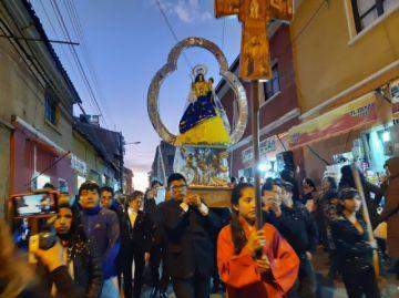Potosí ya vive la festividad de la Virgen de la Candelaria