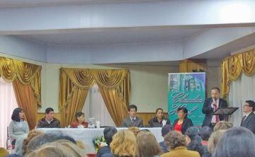 Inauguraron XXI Congreso de la Unión Boliviana de Clubes del Libro