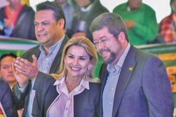Doria Medina acompaña a Áñez en las elecciones