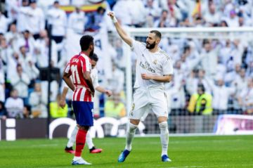 Real Madrid se adueña del derbi español