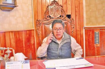 Alcalde  prioriza proyectos para remitirlos al Concejo
