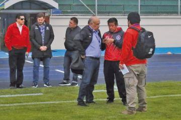 La Conmebol inspeccionó el estadio para la Sudamericana