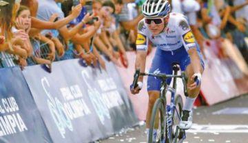 Evenepoel se corona rey de la Vuelta a San Juan de ciclismo