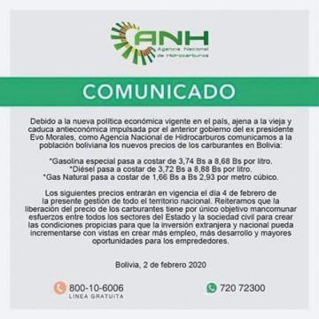 """Gobierno rechaza versiones de supuesto """"gasolinazo"""""""