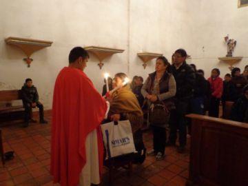 Fieles y devotos recibieron la bendición de San Blas