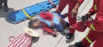 Anciana muere al ser arrollada por cisterna