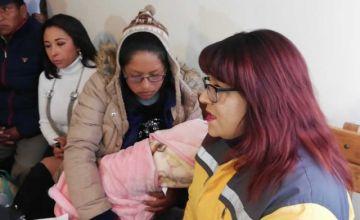 Aparece la bebé raptada en El Alto