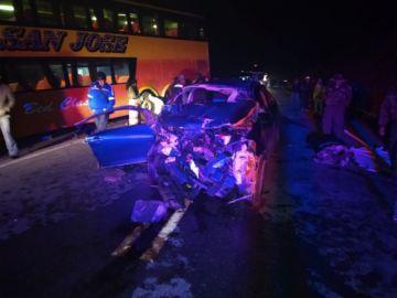 Tres personas mueren en dos fatales accidentes