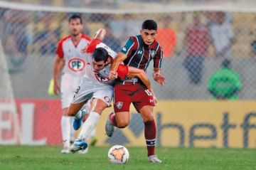 Unión La Calera empata  ante Fluminense