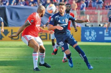 U de Chile e Internacional empatan sin goles