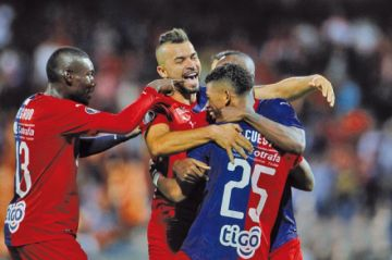 Independiente Medellín golea a Deportivo Táchira