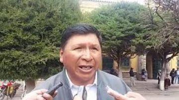 Jhonny Llally afirmó que no respalda ninguna candidatura