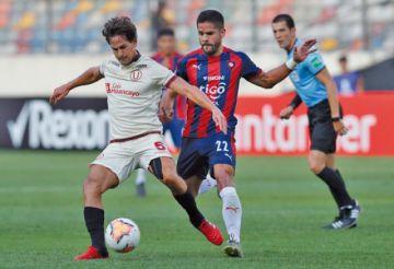 Cerro Porteño empata a Universitario de Deportes