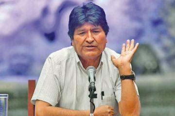 """Evo Morales admite que quiere ser senador para """"blindarse"""" ante EE.UU."""