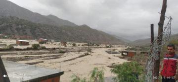 Casi un centenar de casas fueron afectadas por una riada en Cotagaita