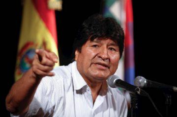 """Morales propone acuerdo político para garantizar la paz y """"cerrar heridas"""""""