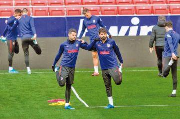 Atlético de Madrid y Granada miden fuerzas