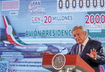 México: Habrá sorteo pero no precisamente del avión