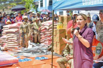El Gobierno promete reconstruir la Cotagaita que fue devastada