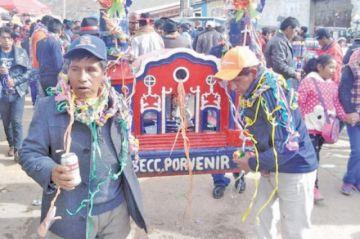 Potosí vive hoy el Carnaval Minero