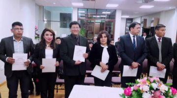 El Colegio de Auditores de Potosí tiene nueva directiva