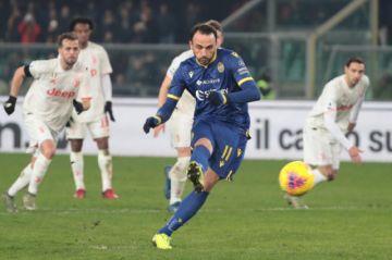 Juventus Turín cae ante el equipo de Hellas Verona en la Serie A italiana