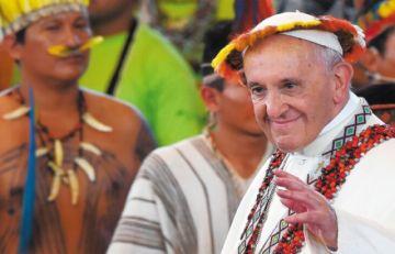 Papa presentará su exhortación postsinodal tras incendio de la Chiquitania