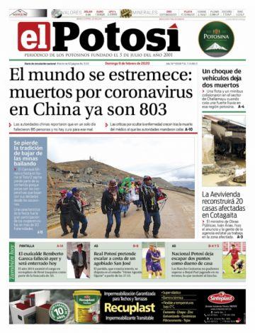El coronavirus sigue rondando las tapas de los periódicos