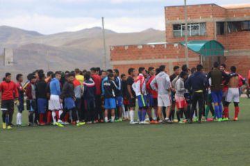 El equipo de Ferrocarril Palmeiras empieza con sus pruebas a jugadores