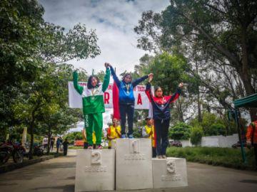La potosina Chumacero sube al podio en el torneo Nacional de Marcha Atlética