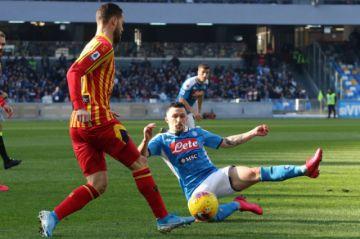 Nápoles cae 1-2 en casa ante el Lecce en la Serie A italiana