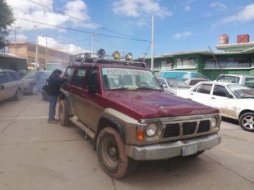 Incautan vehículo de Comcipo en la zona Las Rosas