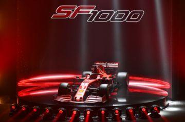 Ferrari presentó el monoplaza SF1000