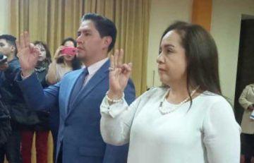 Posesionan a los nuevos fiscales departamentales de La Paz y Tarija