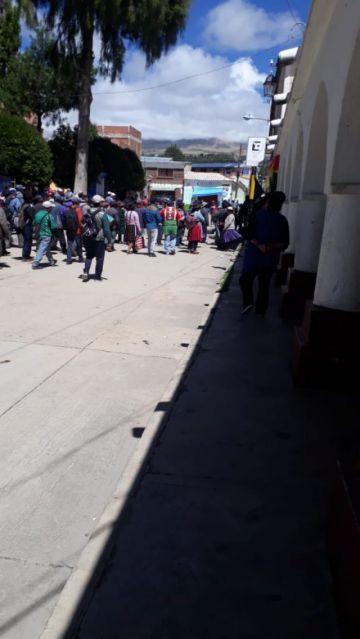 Hay tensión en Puna, reportan agresiones y destapiado