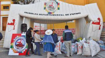Asamblea Legislativa agradece apoyo a campaña por Cotagaita
