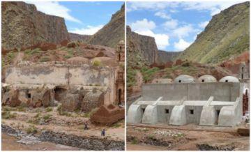 Denuncian obras que afectan el templo de Yocalla