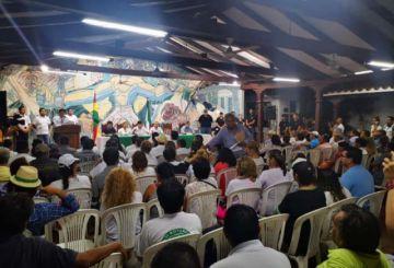 Cívicos definen ir al paro indefinido si TSE habilita la candidatura de Evo