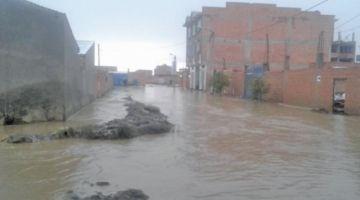 La lluvias superan registros normales en cinco ciudades