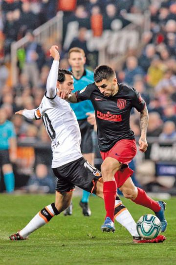 Valencia y Atlético se reparten honores