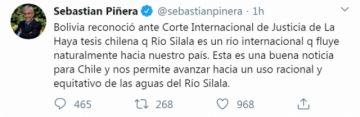 Chile confirma que Bolivia retrocedió en la defensa del Silala