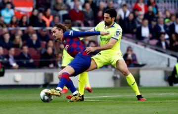 """Barcelona sufre para vencer a Getafe en el """"Camp Nou"""""""